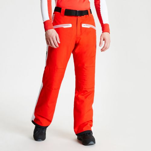 Men's Charge Out Black Label Ski Pants Fiery Red